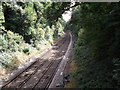 TQ3866 : Railway line to Hayes by David Anstiss