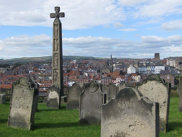 Graves in St Mary's churchyard, Whitby