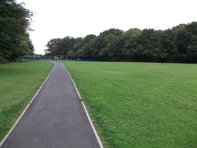 Footpath to Pickhurst Lane