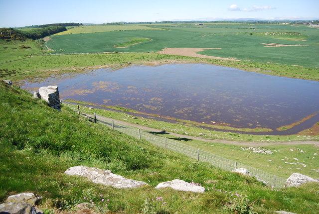 Pond below Dunstanburgh Castle