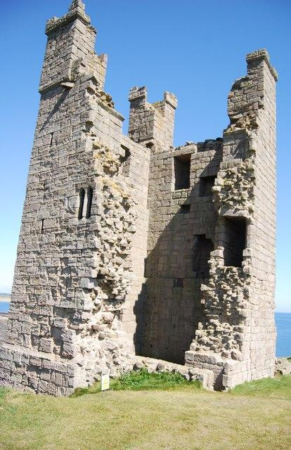 Part of Dunstanburgh Castle