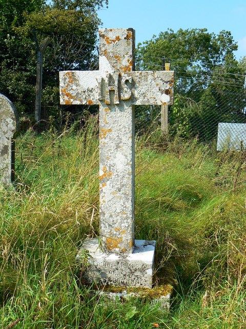Cross, St Giles' Church, Imber