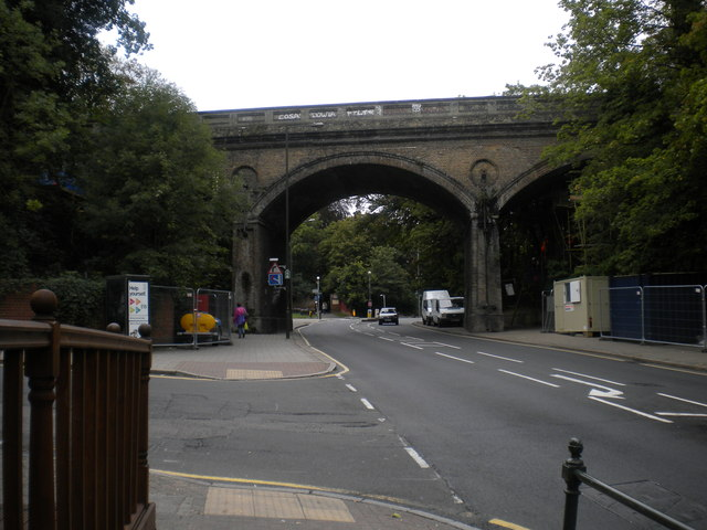 Railway bridge, Penge High Street SE20
