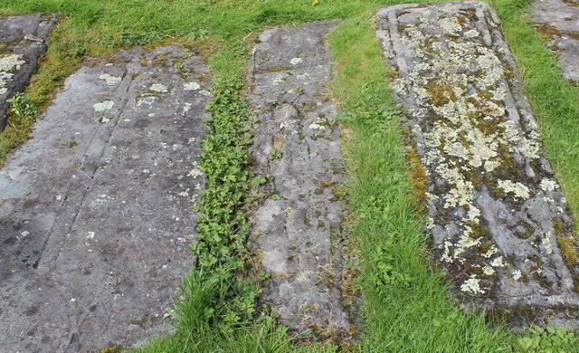 Grave slabs, Kilmichael Glassary church