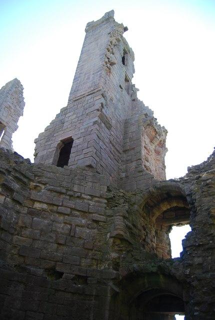 Inside the gatehouse