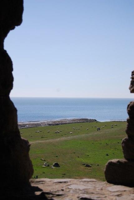 View SE from Dunstanburgh Castle
