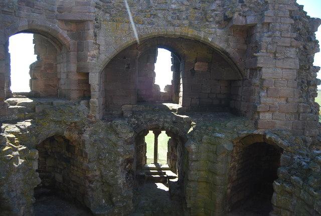 Windows, Dunstanburgh Castle