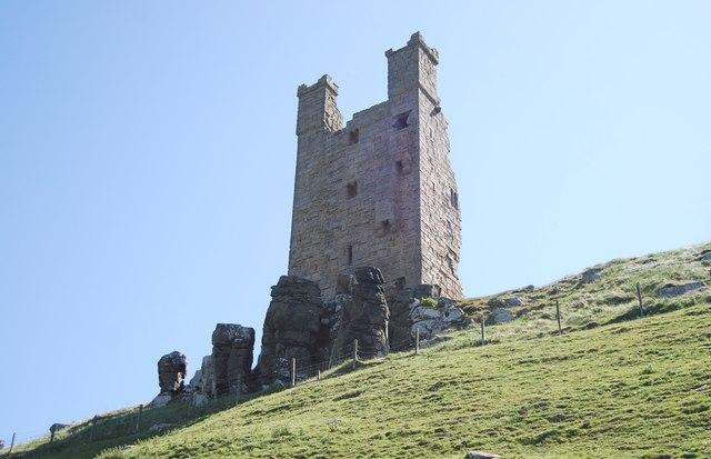 Tower, Dunstanburgh Castle
