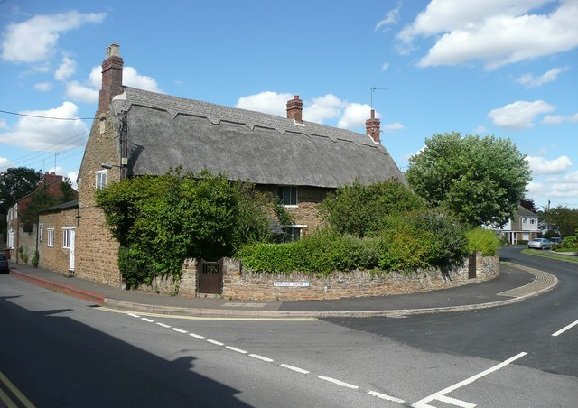 House dated 1658, Church Street, Moulton