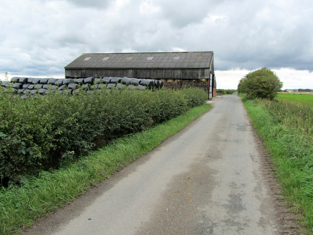 Approaching Birch House Farm