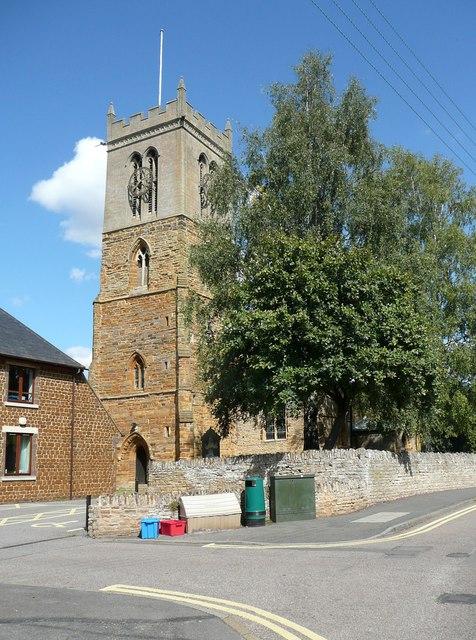 Church tower, Moulton