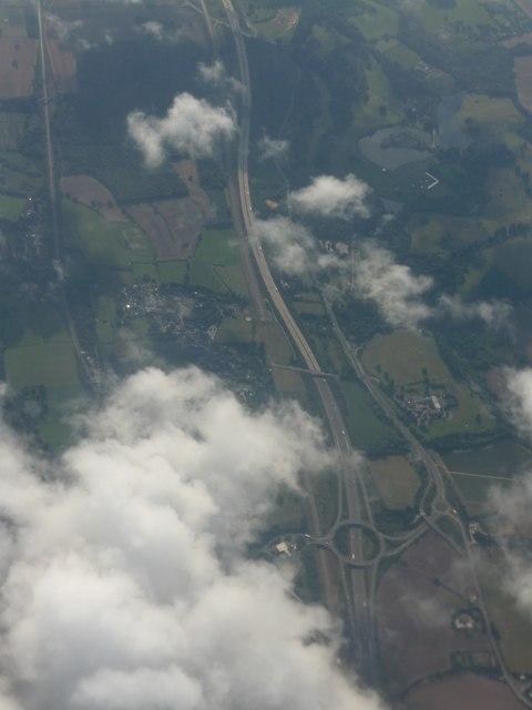 Kent : Maidstone - M20 Motorway