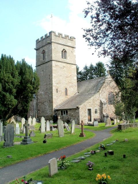 Grade I listed Church of St Teilo, Llantilio Pertholey