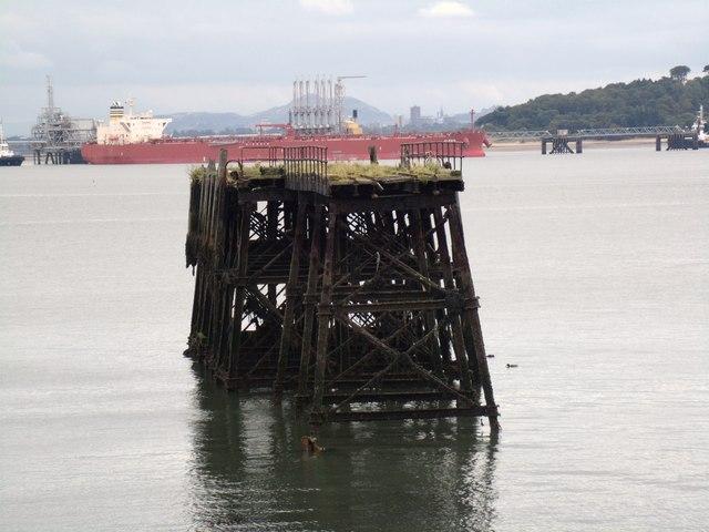Carlingnose submarine mining pier