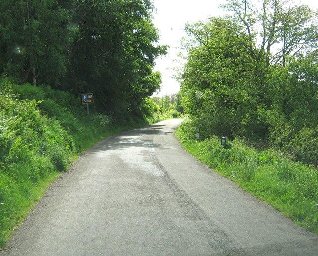 Heading towards the A710