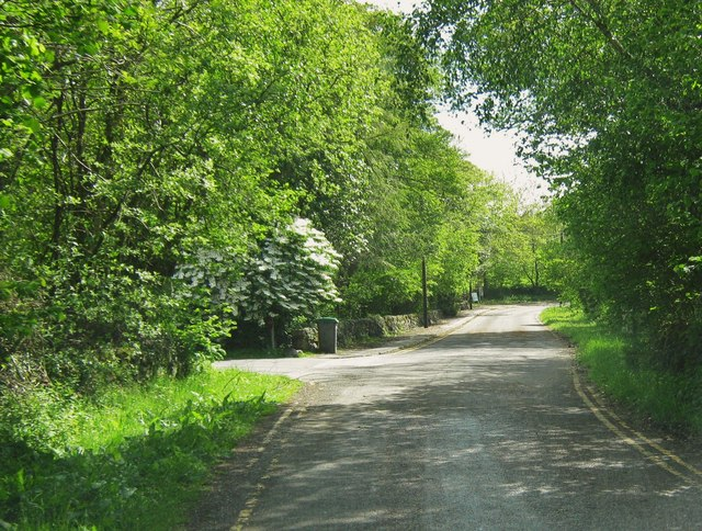 Approaching an entrance into Barend Holiday Village