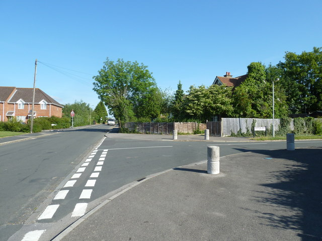 Junction of Coppice Way and Fareham Park Road