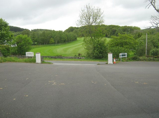 Exit from the car park