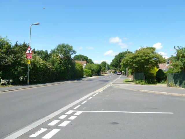 Junction of Atkins Place and Fareham Park Road