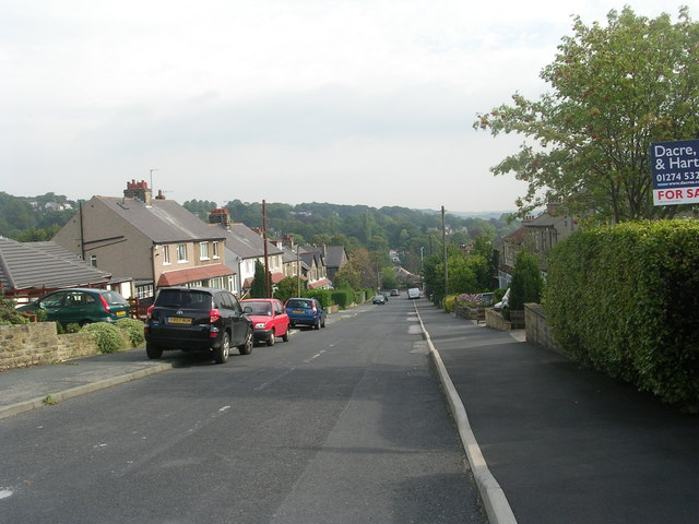 Sandals Road - viewed from Glenholm Road