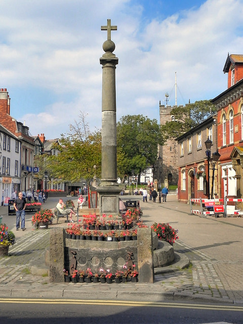 Stocks and Market Cross, Poulton-Le-Fylde