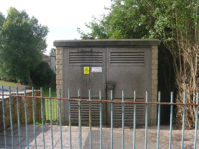 Electricity Substation No 4540 - Temple Rhydding Drive