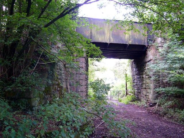 Road bridge over Taff Vale Railway