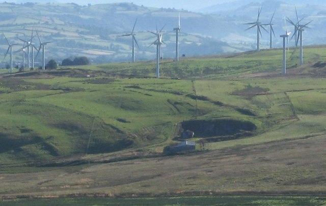 Mynydd Clogau Windfarm