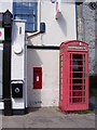 TM2972 : Telephone Box &amp; Laxfield Post Office Postbox by Adrian Cable