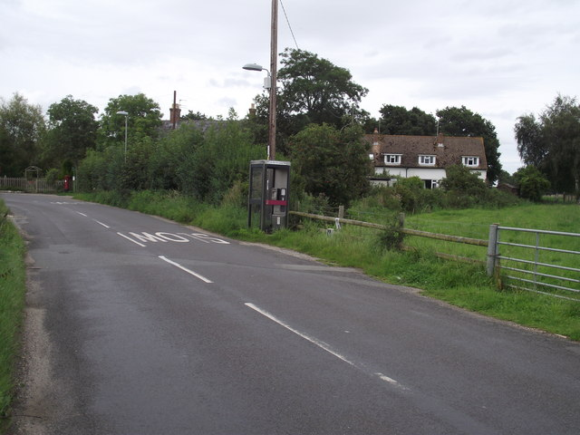 Telephone box on the Organford Road