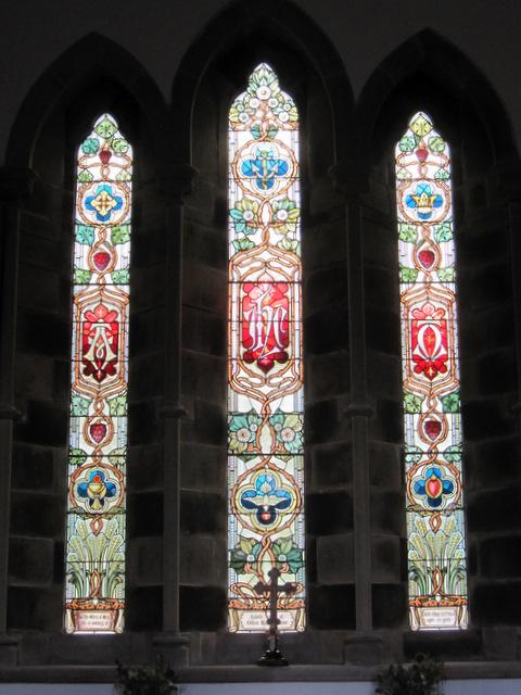 Memorial east window of St James', Dalehead