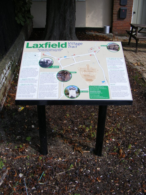 Laxfield Information Board