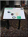 TM2972 : Laxfield Information Board by Adrian Cable