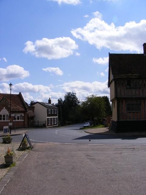 B1117 Vicarage Road, Laxfield