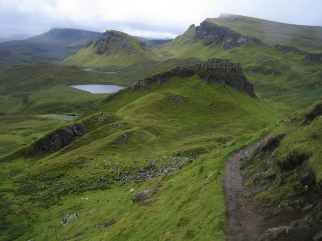 View south from Quiraing