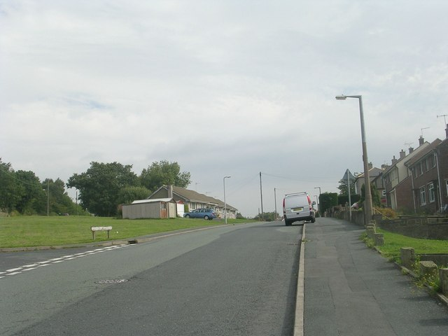 Cliffe Avenue - viewed from Cliffe Lane West