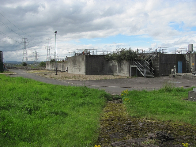 Sewage treatment works,  Alloa