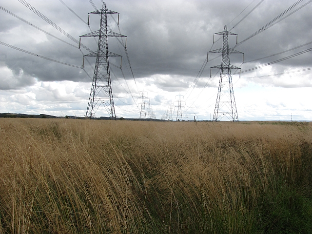 Power lines, Alloa