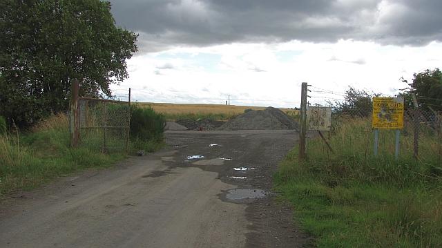 Black Devon landfill site