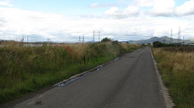 Landfill road, Forthbank