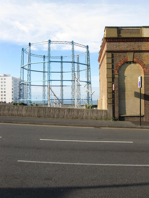 Black Rock Gas Holder