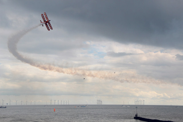 Breitling Wing Walker, Clacton Air Show, Essex