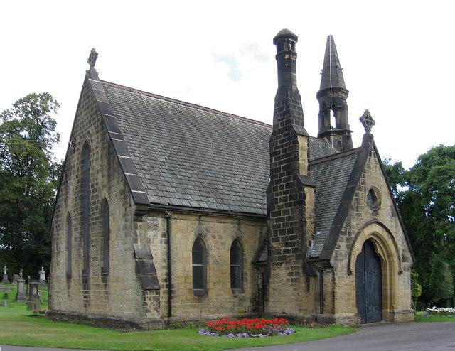 Bingley - cemetery chapel