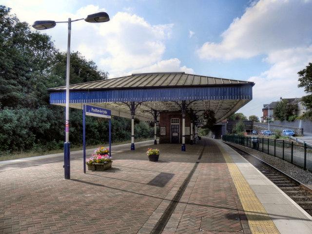 Poulton-Le-Fylde Railway Station