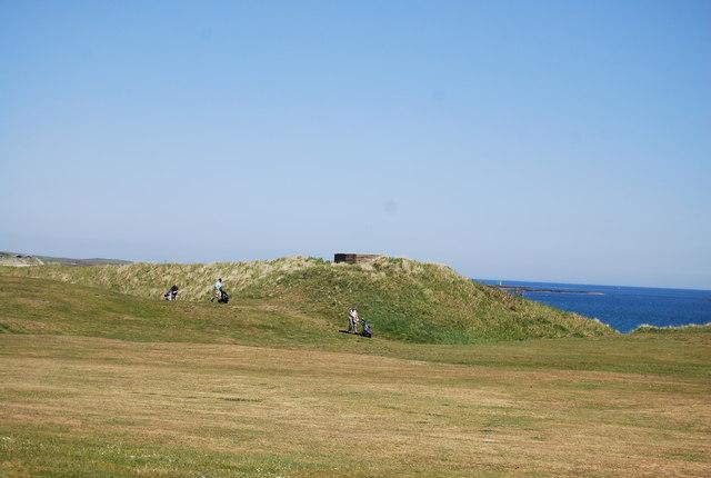Pillbox, Dunstanburgh Castle Golf Course