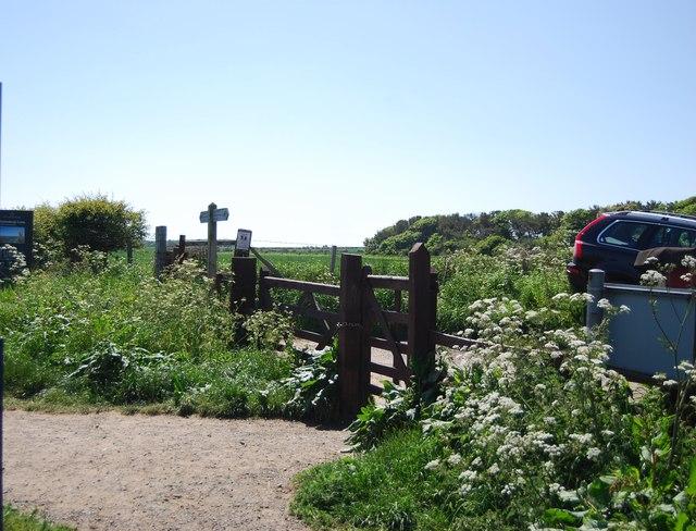 Gate, Northumberland Coast Walk