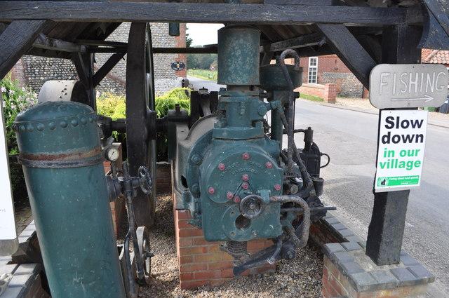 Gimingham Mill - Crossley Oil Engine