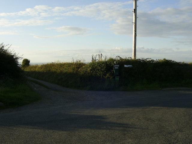 Track to Llanvyrn Farm