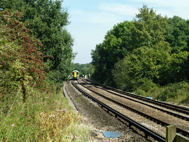 Up train near Codmore Hill