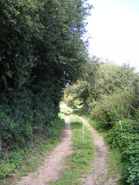 Footpath to The Street, Easton